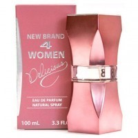 Perfume New Brand 4 Women Delicious Femnino100ML