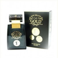 Perfume New Brand Gold Masculino 100ML