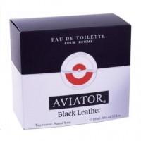 Perfume Paris Bleu Aviator Black Leather Masculino 100ML