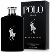 Perfume Ralph Lauren Polo Black Masculino 200ML no Paraguai