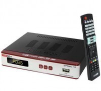 Receptor digital Cinebox Optimo HD no Paraguai