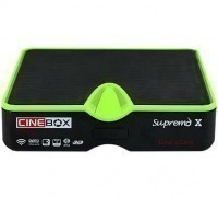 Receptor digital Cinebox Supremo X Full HD