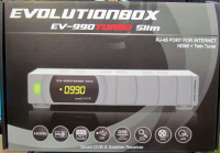Receptor digital Evolutionbox EV-990 Turbo Slim no Paraguai
