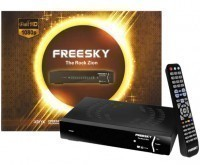Receptor digital Freesky The Rock Zion no Paraguai