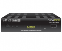 Receptor digital Gigabox S-400HD Mini no Paraguai