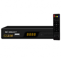 Receptor digital Globalsat GS-220 HD no Paraguai