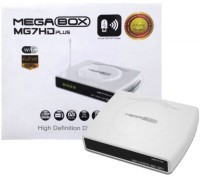 Receptor digital MegaBox MG7HD Plus no Paraguai