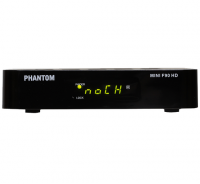 Receptor digital Phantom Mini F90 HD no Paraguai