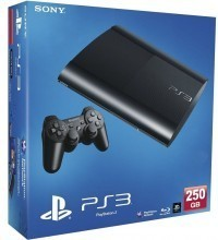 Console de Videogame Sony Playstation 3 Super Slim 250GB