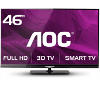 TV AOC LED LE46D7840 3D Full HD 46 no Paraguai