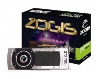 Placa de Vídeo Zogis GeForce GTX780 TI 3GB no Paraguai